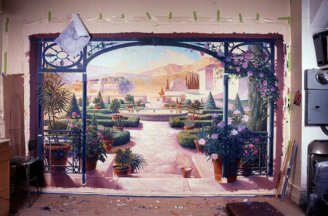 Mural grand illusion decorative painting inc for Decorative mural painting