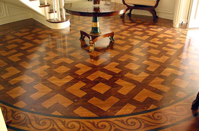 Wood Finish Grand Illusion Decorative Painting Inc